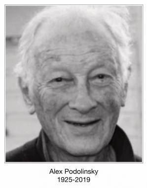 Alex Podolinsky 1925-2019
