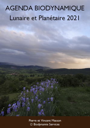 Pierre Masson's 2021 Lunar and Planetary Calendar - French version -