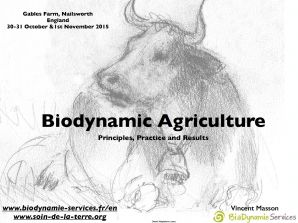 Biodynamic Agriculture Principles, Practice and Results
