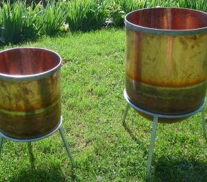 Cuves en cuivre pour dynamiser