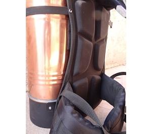 Copper Backpack Sprayer - brass piston system