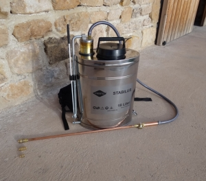 Stainless steel Backpack Sprayer