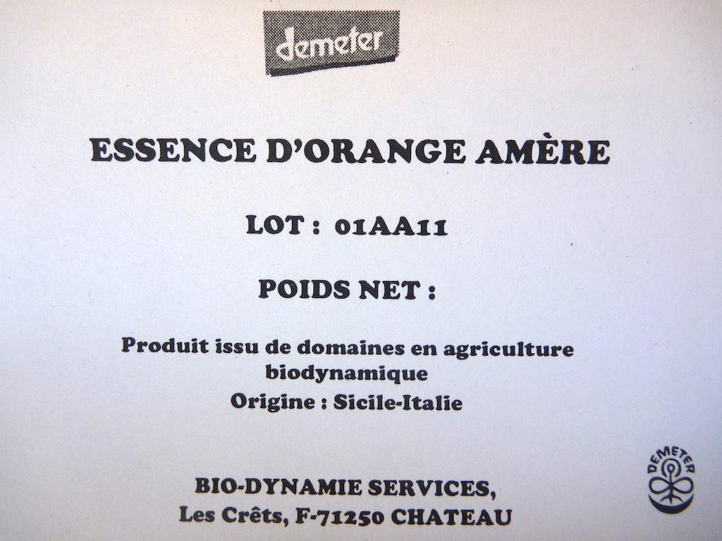 Essence d'orange amère - P1020841