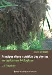 Principes d'une nutrition des plantes  en agriculture biologique - E. Scheller